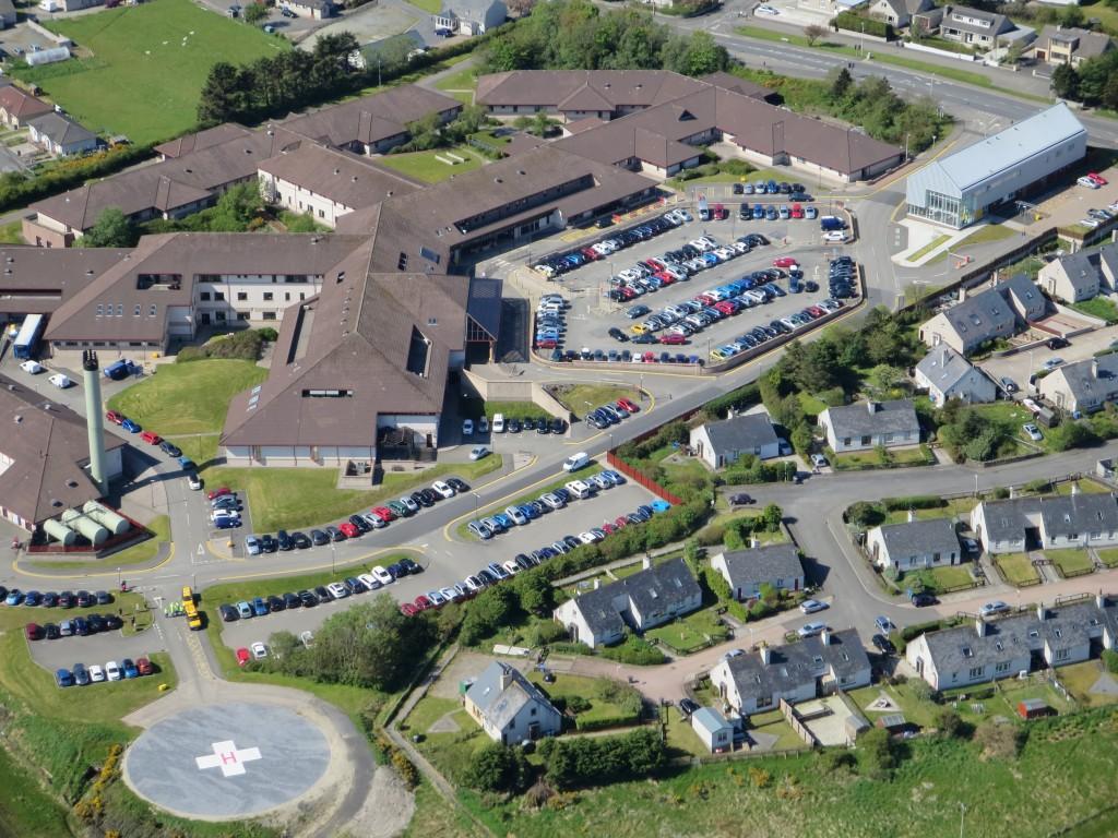 USE aerial hospital GV