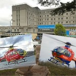 Derriford Helipad used four times in one evening