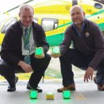 Funding helps light up Wiltshire Air Ambulance's airfield