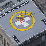 Bristol's helipads have over 700 landings in three years