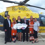 £25,000 boost for Warwickshire & Northamptonshire Air Ambulance