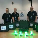 Scottish Ambulance Service portable landing lights
